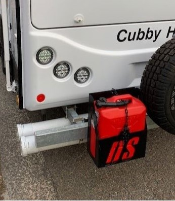 DS Rear Mounted Jerry Can Holder